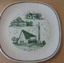 Image of Plate, Lake Harriet UMC - L-Minneapolis, Lake Harriet UMC
