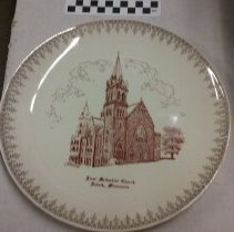 Image of Plate, Duluth, First UMC - L-Duluth, First UMC