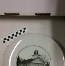 Image of Plate, Taylors Falls UMC,150 Anniversary - L-Taylors Falls UMC