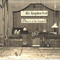 Image of Interior Tabernacle 1943