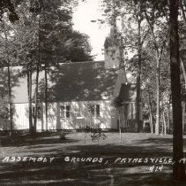 Image of Chapel, Assembly Grounds, Paynesville, Minn.  - 6F Lake Koronis