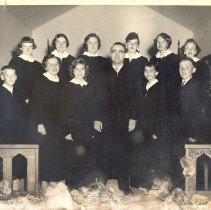 Image of Confirmation class 1956 - L-Bloomington Prairie UMC