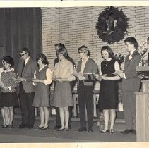 Image of Installations of State Y.F. Officers, 1965 - 2C Council on Youth Ministries