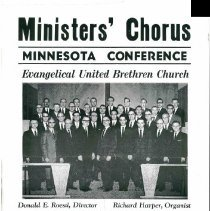 Image of Ministers Chorus Minnesota Conference Evangelical United Brethren - 6F Lake Koroins