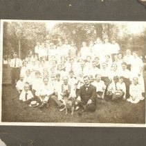 Image of St Paul, Asbury, large group of people sitting on grass - Local Church