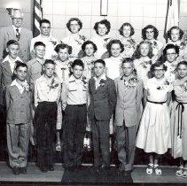 Image of Jeffers UMC, confirmation photographs 1952 - Local Church