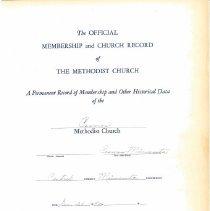 Image of Cosmos United Methodist Church 1893-2005 - Discontinued Church