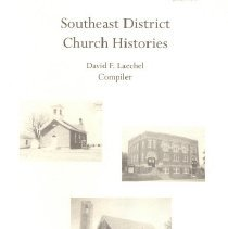 Image of Southeast District Church Histories, Heritage December 2002, Vol 20, No. 1 & 2 - Laechel, David, ed.