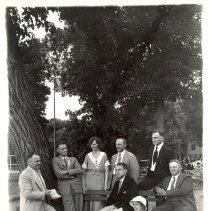 Image of 1933, E.G. Moede, E.M. Schendel, Mrs. A.B. Utzman, C.J. Attig, E.F. Brand, Raymond Albright, H.V. Summers, Cora Erickson - 6F Lake Koronis