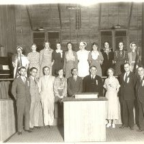 Image of Group in Tabernacle 1934