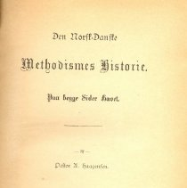 Image of The Norwegian-Danish Methodist history (Den Norsk-Danske Methodismes historie) - Haagensen, A.