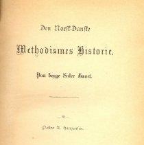 Image of Norsk Danske Methodism Historie