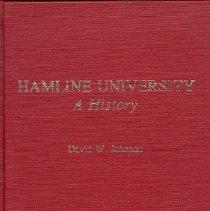 Image of Hamline University; a history - Johnson, David W.