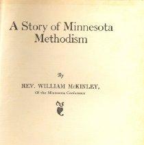 Image of Story of Minnesota Methodism