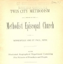 Image of Twin Cities Methodism