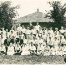 Image of Minneapolis Epworth League Institute photograph, July 16-23, 1916, Groveland, Lake Minnetonka - Youth