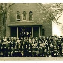 Image of Annual Union Gathering of former area German Methodist congregations 1944 - Local Church