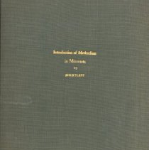Image of Introduction of Methodism in Minnesota: A Thesis Submitted to the Graduate Faculty of the University of Minnesota - Shurtleff, Malcolm Chesney