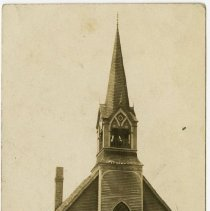 Image of Children's Day, July 17th, 1910, Cherry Grove, Minn - Local Church