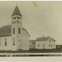 Image of United Brethren in Christ Church and Parsonage, Hewitt, Minnesota - Local Church