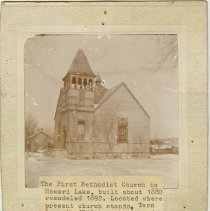 Image of First Methodist Church, Howard Lake, Minnesota