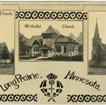 Image of Churches of Long Prairie, Minnesota, Presbyterian, Methodist, Lutheran - Local Church