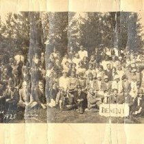 Image of Northern Pines Institute, Epworth League, Park Rapids, Minn, July 27-Aug 2, 1925 - 6G Northern Pines Camp