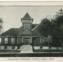 Image of Methodist Episcopal Church, Olivia, Minnesota