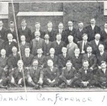 Image of 1922 Evangelical Church Annual Conference 55th Session group photograph - 5A Annual Conference
