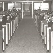 Image of MN EUB Conference session, Waseca, Minnesota, 1961 - 5A Annual Conference
