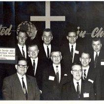 Image of Evangelical United Brethren General Conference 1966, Minnesota Conference Delegates, - General Conference