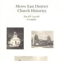 Image of Metro East District Church Histories, Heritage, December 2004, Vol 22, No. 1 & 2 - Laechel, David