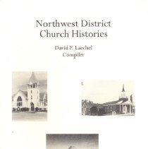 Image of Northwest District Church Histories, Heritage, December 2003, Vol 21, No. 1 & 2 - Laechel, David