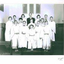 Image of Austin, Faith UMC, Confirmation, Rev. Delmont Gordy - Local Church