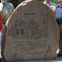 Image of Finnish Church memorial, Moose Lake