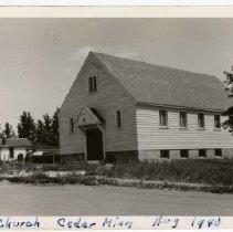 Image of Cedar Methodsit Episcopal Church, 1940 - Local Church