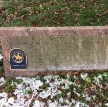 Image of Jacob Fahlstrom's Grave. - 5A Annual Conference