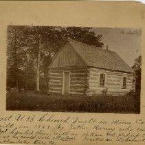 Image of First U.B. Church, Horse Shoe Lake, Rice County, Minnesota - Local Church