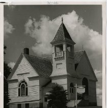 Image of Pleasant Corners Church Evangelical United Brethren , 195? - Local Church