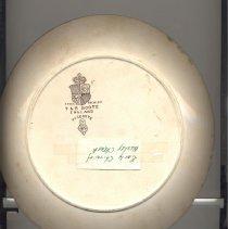 Image of Plate, Minneapolis, Wesley UMC
