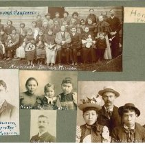 Image of Missionary and Family photographs Rev. John Lincoln Parmeters - Clergy