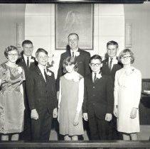 Image of Confirmation Class 1966 Verdi Methodist Church - L-Verdi Methodist Church