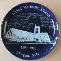 Image of United Methodist Church, Morgan, MN 1890-1990 - Local Church