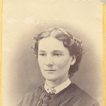 Image of Sarah McKinley (Mrs. William McKinley) - Clergy