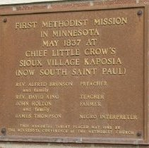 Image of First Methodist Mission in Minnesota at Kaposia Village - 5A Annual Conference