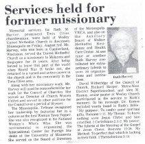 Image of Ruth Harvey bio