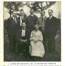 Image of A Cause for Rejoicing and An Inspiration Forever, Rev. John James Parish Family - Clergy