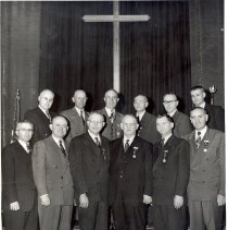 Image of Minnesota Delegates General Conference United Brethren in Christ and Evangelical Church 1946 - Clergy