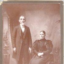 Image of Rev. John Doran and wife Harriet - Clergy
