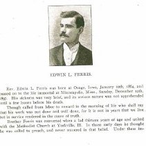 Image of Rev Edwin Ferris memoir 1